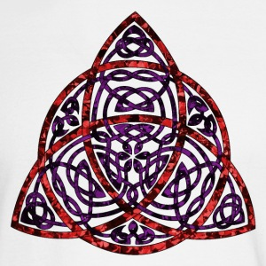 Celtic Triquetra Long Sleeve Shirts - Men's Long Sleeve T-Shirt