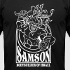 Samson. Bodybuilder T-Shirts - Men's T-Shirt by American Apparel