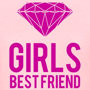 diamonds are girls best friend - Women's T-Shirt