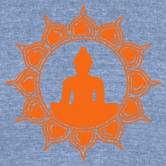 Meditation - buddha lotus - symbol enlightenment T-Shirts