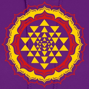 Shri Chakra Yantra -  cosmic conductor of energy Hoodies - Women's Hoodie