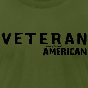 veteran_vec_1 T-Shirts - Men's T-Shirt by American Apparel