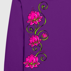 Fleur de lotus, symbole perfection et équilibre Hoodies - Women's Hoodie