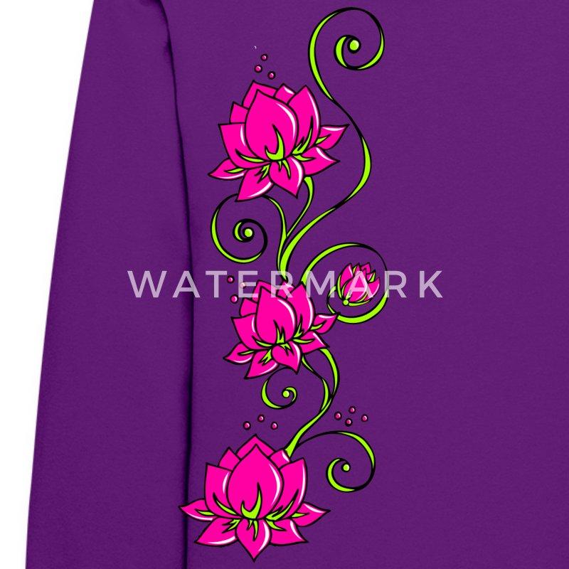 lotus flowers symbol perfection balance hoodie. Black Bedroom Furniture Sets. Home Design Ideas
