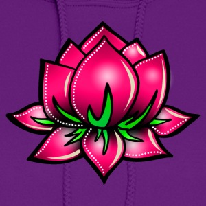 Lotus flower, symbol perfection & balance Hoodies - Women's Hoodie