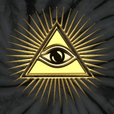 Pyramid & All-Seeing Eye - Symbol of Omniscience T-Shirts