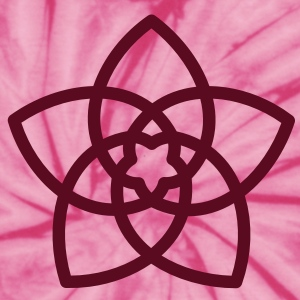 FLOWER OF LOVE - Venus Flower, symbol of love, c, T-Shirts - Unisex Tie Dye T-Shirt