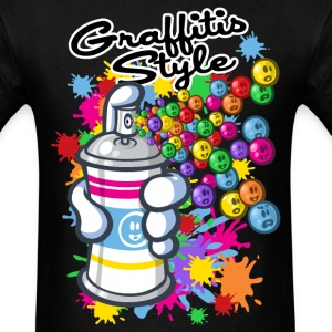 Graffitis and cartoon T-Shirts - Men's T-Shirt