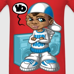 B-boy and boom-box T-Shirts - Men's T-Shirt