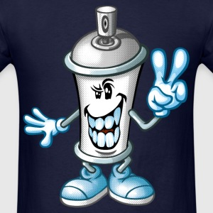 happy paint spray T-Shirts - Men's T-Shirt