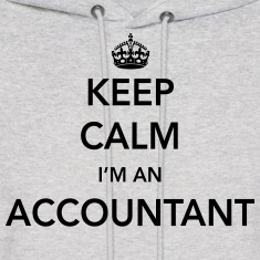 Keep Calm, I'm an Accountant Hoodies