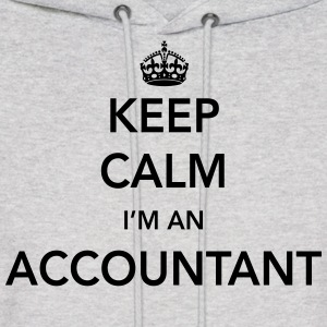 Keep Calm, I'm an Accountant Hoodies - Men's Hoodie
