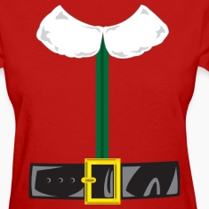 Elf Costume with Belt Women's T-Shirts