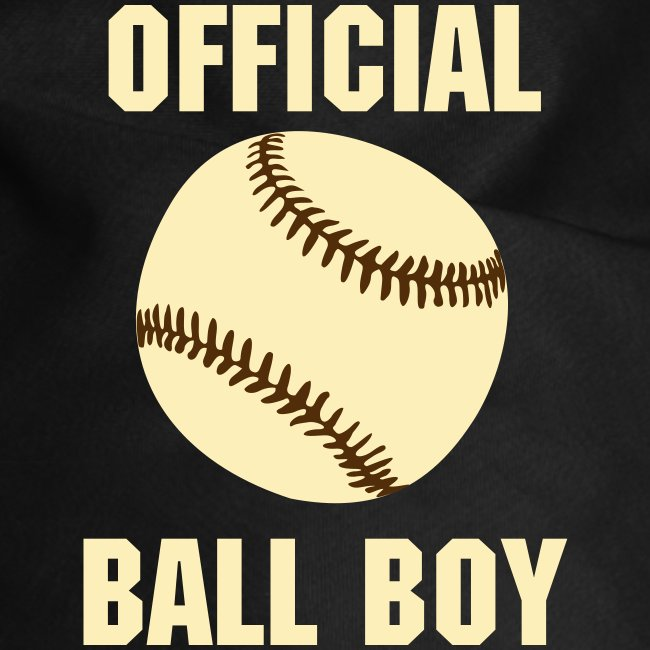 Baseball - Official Ball Boy Dog Bandana