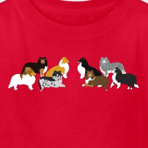 shelties 2 Kids' Shirts - Kids' T-Shirt