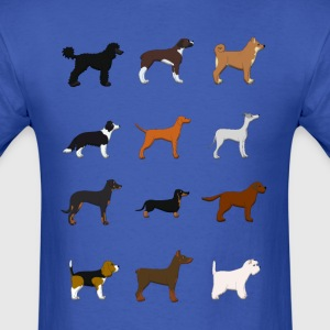 12 dogs T-Shirts - Men's T-Shirt