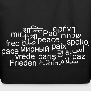 PEACE - WORLDWIDE - INTERNATIONAL - PEACE-BAG - Eco-Friendly Cotton Tote