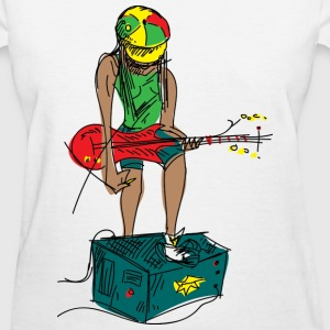 Guitar Girl Women's T-Shirts - Women's T-Shirt