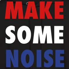 Make Some Noise House Music Design Hoodies