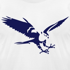 hawk T-Shirts - Men's T-Shirt by American Apparel