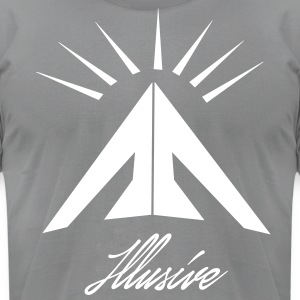 Illusive Logo Tee - Men's T-Shirt by American Apparel