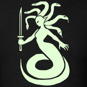 Medusa 1 (Glow in the Dark) - Men's T-Shirt