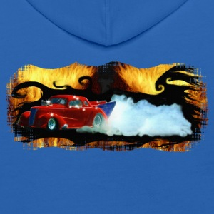 Red Slammer Drag Racing Car - Kids' Hoodie