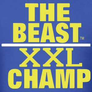 THE BEAST XXL CHAMP T-Shirts - Men's T-Shirt