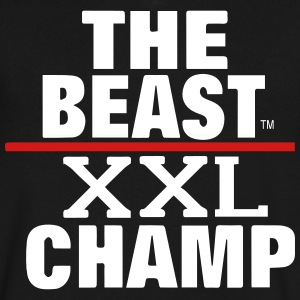 THE BEAST XXL CHAMP T-Shirts - Men's V-Neck T-Shirt by Canvas
