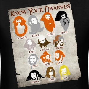 Know Your Dwarves - Men's T-Shirt
