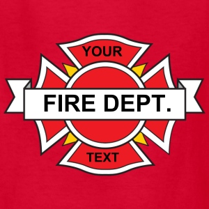 Firefighter Emblem Kids' Shirts - Kids' T-Shirt