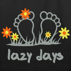 Lazy Days - Toes | desing your own funshirt Bags  - Eco-Friendly Cotton Tote