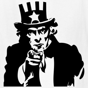 Uncle Sam Kids' Shirts - Kids' T-Shirt