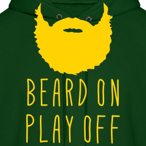 Playoff Beard Beard On Play Off Hoodies - Men's Hoodie