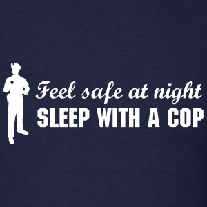 Police Officer Silhouette T-Shirts - Men's T-Shirt