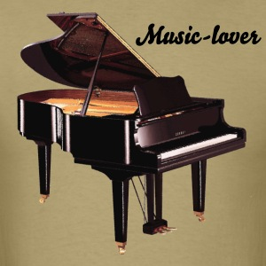 Grand Piano Music-lover - Men's T-Shirt