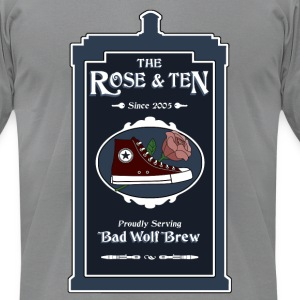 The Rose & Ten - Men's T-Shirt by American Apparel