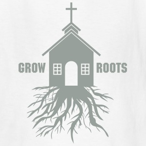 Church with Roots Kids' Shirts - Kids' T-Shirt
