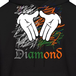 diamond hands Hoodies - Men's Hoodie
