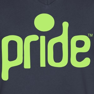 PRIDE T-Shirts - Men's V-Neck T-Shirt by Canvas