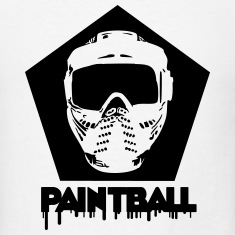 Paintball,paintball mask,marker,paint ball gun, T-Shirts