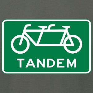 tandem_bicycle_sign T-Shirts - Men's T-Shirt by American Apparel
