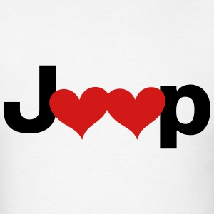 Jeep Love - Men's T-Shirt