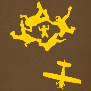 Skydiving - Men's T-Shirt