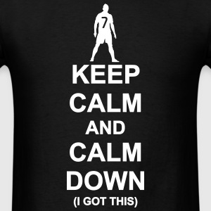 Keep Calm and Calm Down - Men's T-Shirt