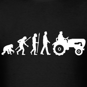 evolution_bauer_mit_treaktor_032013_a_1c T-Shirts - Men's T-Shirt