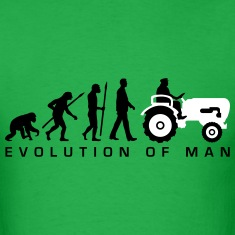 evolution_bauer_mit_treaktor_032013_a_2c T-Shirts