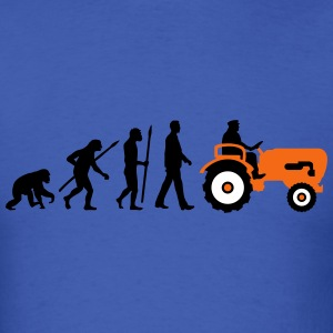 evolution_bauer_mit_treaktor_032013_a_3c T-Shirts - Men's T-Shirt