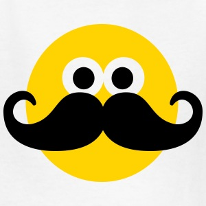 Smiley Mustache Kids' Shirts - Kids' T-Shirt
