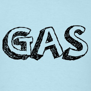 GAS BLACK T-Shirts - Men's T-Shirt